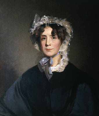 American First Lady Painting - Martha Jefferson Randolph (1772-1836) by Granger