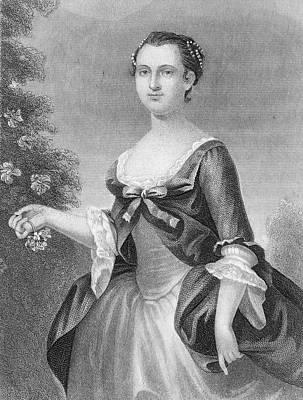 Martha Washington (1732-1801) Print by Granger