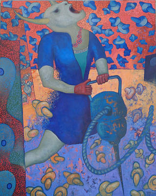 Martillo Neumatico I Original by Ceri H Pritchard