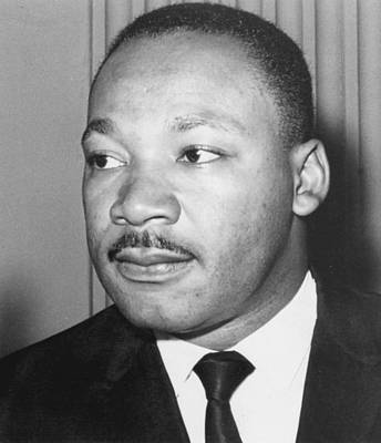 Assassination Photograph - Martin Luther King Jr 1929-68 American Black Civil Rights Campaigner by Anonymous