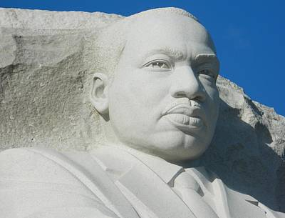 Martin Luther King Jr Memorial Print by Emmy Marie Vickers