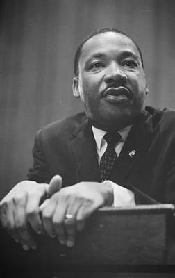 Martin Luther King Press Conference 1964 Print by Anonymous
