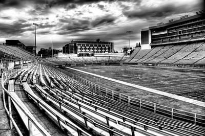 Cougar Photograph - Martin Stadium On The Washington State University Campus by David Patterson