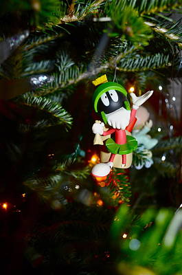 Marvin The Martian Print by Brynn Ditsche