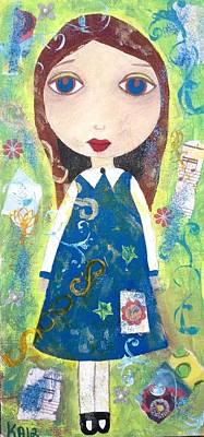 Angel Painting - Mary Jane by Kerri Ambrosino GALLERY