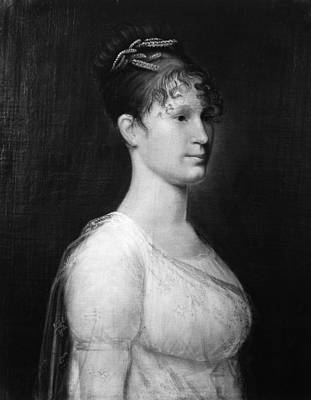 Martha Mary Painting - Mary Lee Fitzhugh Custis (1788-1853) by Granger