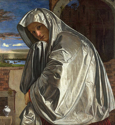 Mary Magdalene Painting - Mary Magdalene by Giovanni Gerolamo Savoldo
