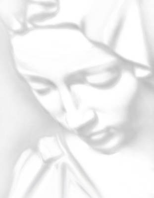 Child Jesus Mixed Media - Mary Pieta by Tony Rubino