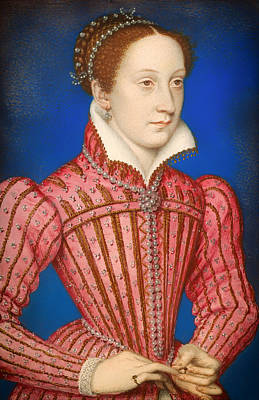 Scots Painting - Mary -  Queen Of Scots by Mountain Dreams