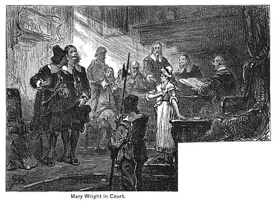 Mary Wright (1642-1699/1700) Print by Granger