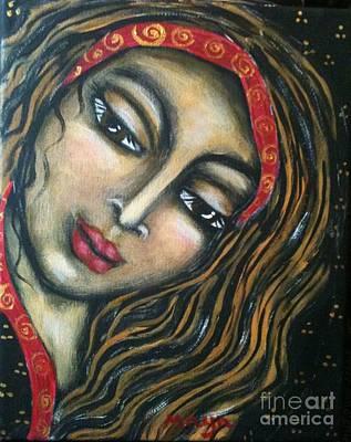 Painting - Maryam by Maya Telford