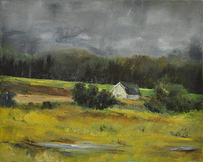 Maryland Barn Original by Lindsay Frost