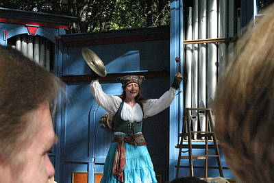 Maryland Renaissance Festival - A Fool Named O - 121223 Print by DC Photographer