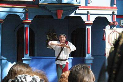 Maryland Renaissance Festival - A Fool Named O - 121226 Print by DC Photographer