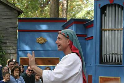 Maryland Renaissance Festival - A Fool Named O - 121240 Print by DC Photographer