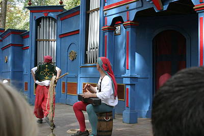 Actor Photograph - Maryland Renaissance Festival - A Fool Named O - 121246 by DC Photographer