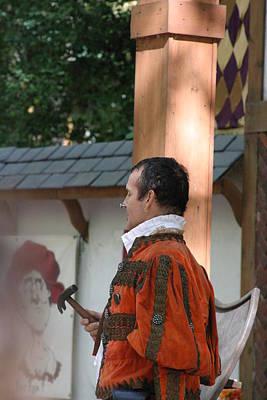 Artists Photograph - Maryland Renaissance Festival - Johnny Fox Sword Swallower - 121239 by DC Photographer