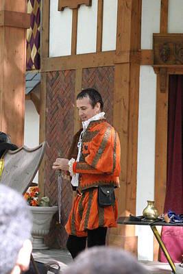 Actor Photograph - Maryland Renaissance Festival - Johnny Fox Sword Swallower - 121241 by DC Photographer