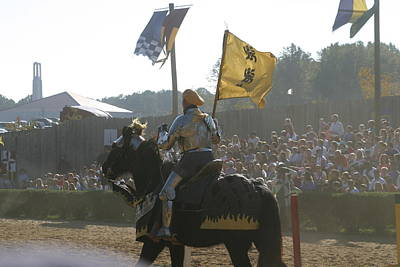 English Photograph - Maryland Renaissance Festival - Jousting And Sword Fighting - 1212138 by DC Photographer