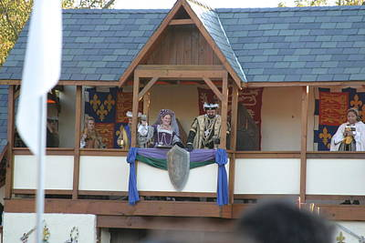 Maryland Renaissance Festival - Jousting And Sword Fighting - 121217 Print by DC Photographer