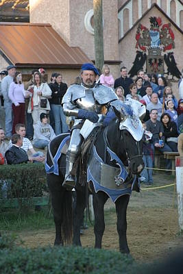Actor Photograph - Maryland Renaissance Festival - Jousting And Sword Fighting - 121229 by DC Photographer