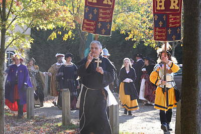 Old Photograph - Maryland Renaissance Festival - Kings Entrance - 12121 by DC Photographer