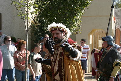 Old Photograph - Maryland Renaissance Festival - Kings Entrance - 121211 by DC Photographer