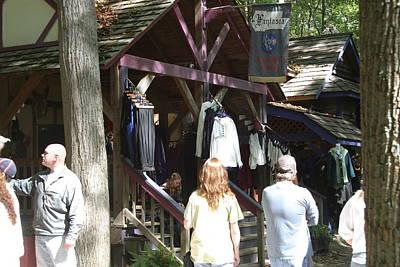 Maryland Renaissance Festival - Merchants - 121264 Print by DC Photographer