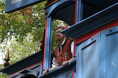 Maryland Renaissance Festival - Mike Rose - 12124 Print by DC Photographer
