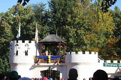Maryland Renaissance Festival - Open Ceremony - 12126 Print by DC Photographer