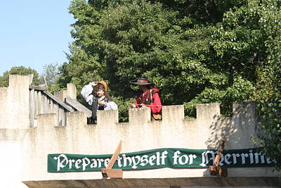 Medieval Photograph - Maryland Renaissance Festival - Open Ceremony - 12129 by DC Photographer