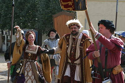 Medieval Photograph - Maryland Renaissance Festival - People - 1212120 by DC Photographer