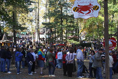 Maryland Renaissance Festival - People - 121235 Print by DC Photographer