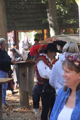 Maryland Renaissance Festival - People - 121237 Print by DC Photographer