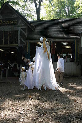 Aged Photograph - Maryland Renaissance Festival - People - 121255 by DC Photographer