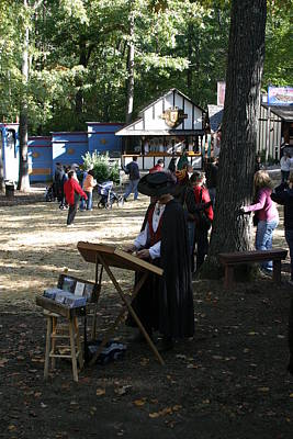 English Photograph - Maryland Renaissance Festival - People - 12127 by DC Photographer