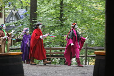 Maryland Renaissance Festival - People - 121289 Print by DC Photographer