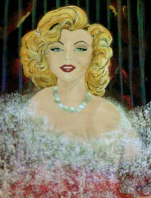 Decoraci Painting - Marylin Monroe by Davileine Borrego