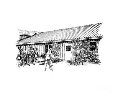 Marynissen Winery Bike Tours Print by Steve Knapp