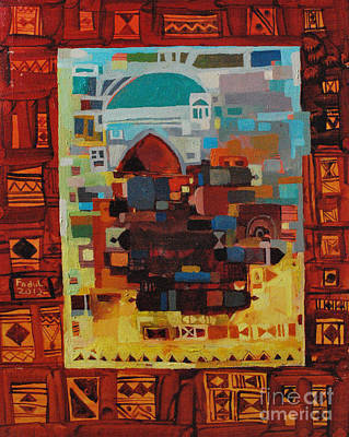Painting - Maseed Maseed 8 by Mohamed Fadul