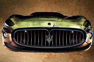 Maserati Photograph - Maserati Granturismo I I by Paulette B Wright