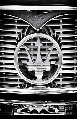 Front End Photograph - Maserati  by Tim Gainey