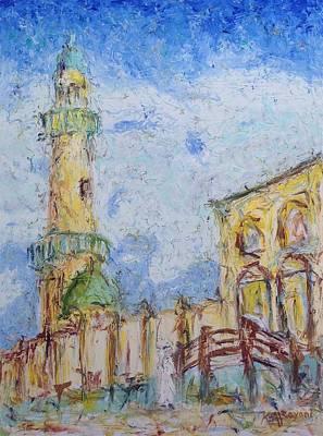 Painting - Masjed by Khalid Alzayani