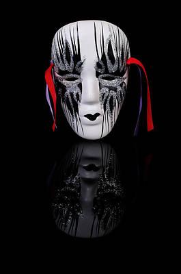 Mask On Black Original by Konstantin Gushcha