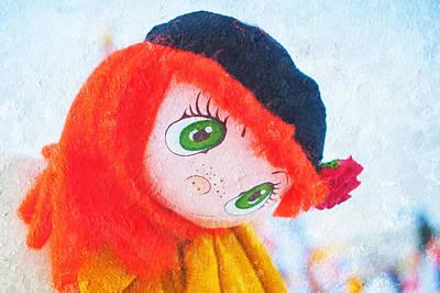 Maslenitsa Dolls 5. Russia Print by Jenny Rainbow