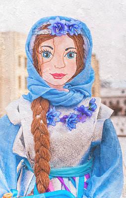 Maslenitsa Dolls 8. Russia Print by Jenny Rainbow