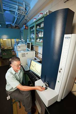 Polymer Photograph - Mass Spectrometry Sugar Analysis by Stephen Ausmus/us Department Of Agriculture