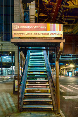 Harlem Photograph - Mass Transit by Sebastian Musial