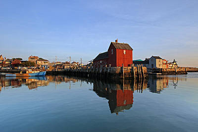 Fishing Shack Photograph - Massachusetts Rockport Harbor by Juergen Roth