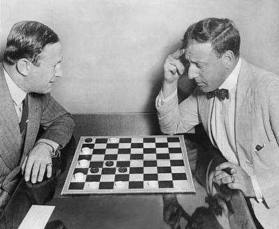 Master Chess Move Print by Underwood Archives